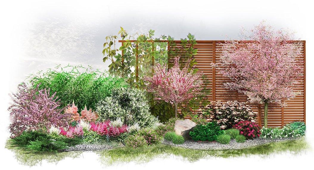 Wygląd ogrodu w stylu japońskim